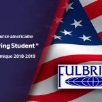 """Programme de bourse américaine """"Fulbright Foring Student"""" pour l'année académique 2018-2019"""