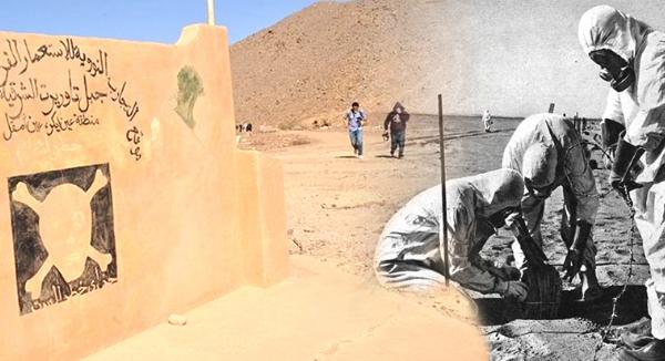 التجارب النووية الفرنسية في الصحراء الجزائرية و المفاوضات الجزائرية الفرنسية