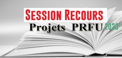 جلسة استئناف مشاريع PRFU 2020