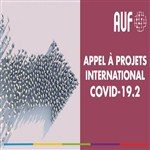 اطلاق المشاريع الدولية للوكالة الدولية للفرنكفونية- كوفيد 19